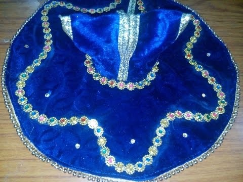 6 videos teaching how to create summer dress,fancy dress and jacket for laddoo gopal ji