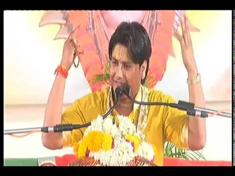 Shreemad Bhagwat Katha By Shri Jugalkishor Ji Maharaj in March,2015 at Vidhya Dham, Indore