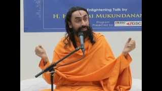 Stanford University Lecture on Science and Spirituality - By Swami Mukundananda