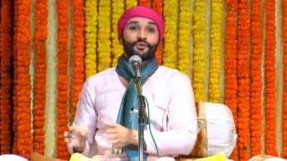 Narad Bhakti Sutra Katha by Shree Hita Ambrish ji in Iskon Mandir (Auditorium), East of Kailash, New Delhi on 13 January to 17 January.