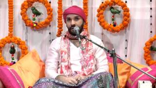 Shree Bihari ji Praktya Utsav (Navdha Bhakti) by Shree Hita Ambrish ji in Shah Auditorium, Civil Lines, Delhi on 14 December to 16 December 2015.