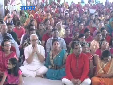 Bhagwat Katha by Swami Avdeshanand Giriji at Salasar, Rajasthan in October 2015