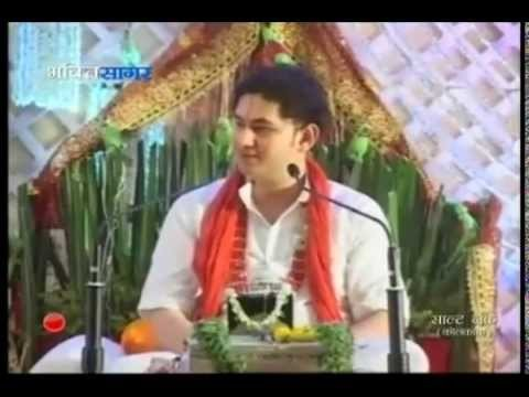 Shreemad Bhagwat Katha By Pundrik Goswami ji Maharaj  in June 2015 At Salt Lake, Kolkata
