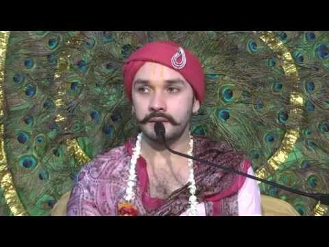 Radha Sudha Nidhi By Shree Hit Ambrish Ji at Hit Ashram,Vrindavan} in Feburary, 2015